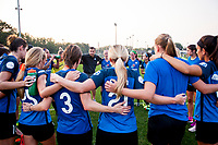 Kansas City, MO - Sunday September 3, 2017: FC Kansas City, Vlatko Andonovski during a regular season National Women's Soccer League (NWSL) match between FC Kansas City and Sky Blue FC at Children's Mercy Victory Field.