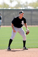 Jon Gilmore, Chicago White Sox 2010 minor league spring training..Photo by:  Bill Mitchell/Four Seam Images.