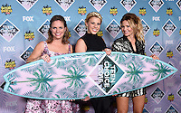 Andrea Barber + Jodie Sweetin + Candace Cameron Bure @ the 2016 Teen choice awards held @ the Forum.<br /> July 31, 2016