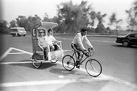 Bici-taxis, Mexico City, Mexico