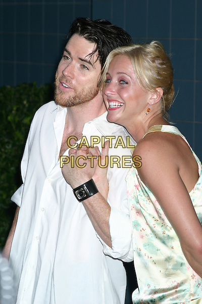 CHRISTIAN CAMPBELL & NlCOLE SNELSON .When Will I Be Loved New York Premiere, Clearview Chelsea West, New York City, New York .September 7, 2004.half length, holding hands.ww.capitalpictures.com.sales@capitalpictures.com.© Capital Pictures