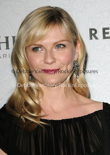 "Kirsten Dunst at Art of Elysium 3rd Annual Black Tie charity gala '""Heaven"" held at 990 Wilshire Blvd in Beverly Hills, California on January 16,2010                                                                   Copyright 2009 DVS / RockinExposures"