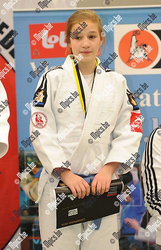 2011-02-13 / Judo / seizoen 2010-2011 / VK U20 Herentals / -48 / Angel Deketelaere..Foto: mpics