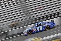 Mar 31, 2007; Martinsville, VA, USA; Nascar Nextel Cup Series driver Mike Bliss (49) during practice for the Goody's Cool Orange 500 at Martinsville Speedway. Martinsville marks the second race for the new car of tomorrow. Mandatory Credit: Mark J. Rebilas