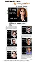 AMA-Apparent Million Age.<br /> Mostra fotografica sulla percezione del valore dei numeri, usando calcoli matematici umanizzati.<br /> http://sociale.corriere.it/quante-vite-per-un-milione-di-euro-foto/