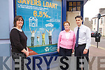 Cahersiveen Credit Union pictured l-r; Elma Shine(Manager CCU), Mary O'Shea & John Casey.