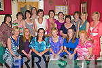 Sarah Hayes Laharn, Killorglin celebrates her hen party with her family and friends in Devs in the Square restaurant, Killorglin on Monday was front row l-r: Miranda Ahern, Alison Looney, Sarah Hayes, Frances O'Brien, Laura O'Brien, Eileen Corkery. Back row: Kathleen Bailey, Hilda Coffey, Lorraine O'Shea, Lisa Corkery, Phildelma Ahern, Aibhe McMahon, Caroline Griffin, Christina Griffin, Susan Fee, Caroline Foley and Sheila O'Donoghue