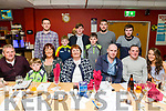 Sheila O Dwyer, waterville, celebrating her 50th birthday with family and friends at the Kingdom Greyhound Stadium on Saturday Pictured front l-r John O'Dwyer, Kieran O'Dwyer, Sheila O'Dwyer, Mary O'Shea, David O'Dwyer, Barry O'Dwyer, Rachel Flynn. Back l-r Daniel O'Dwyer, Bernard O'Dwyer, Patrick O'Dwyer, Dara O'Dwyer, Kevin O'Dwyer, John Vincent O'Dwyer