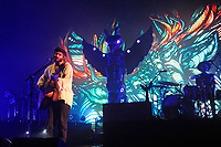 LONDON, ENGLAND - NOVEMBER 7: Angus Stone of 'Angus and Julia Stone' performing at Brixton Academy on November 7, 2017 in London, England.<br /> CAP/MAR<br /> &copy;MAR/Capital Pictures