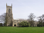 A4TR9A Salle church Norfolk England