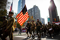 100 Veterans Day Parade in New York