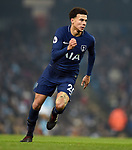 Dele Alli of Tottenham Hotspur during the premier league match at the Etihad Stadium, Manchester. Picture date 16th December 2017. Picture credit should read: Robin ParkerSportimage