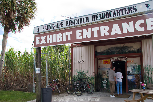 The Skunk Ape Research Center is considered one of American oddities.