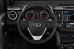 Car pictures of steering wheel view of a 2018 Toyota RAV4 SE 5 Door SUV Steering Wheel