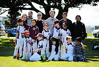 The Eastern Suburbs Moreporks team at Kilbirnie Park in Wellington, New Zealand on Saturday, 11 November 2017. Photo: Dave Lintott / lintottphoto.co.nz