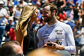 Verizon IndyCar Series<br /> Indianapolis 500 Carb Day<br /> Indianapolis Motor Speedway, Indianapolis, IN USA<br /> Friday 26 May 2017<br /> James Hinchcliffe, Schmidt Peterson Motorsports Honda <br /> World Copyright: Scott R LePage<br /> LAT Images<br /> ref: Digital Image lepage-170526-indy-9381