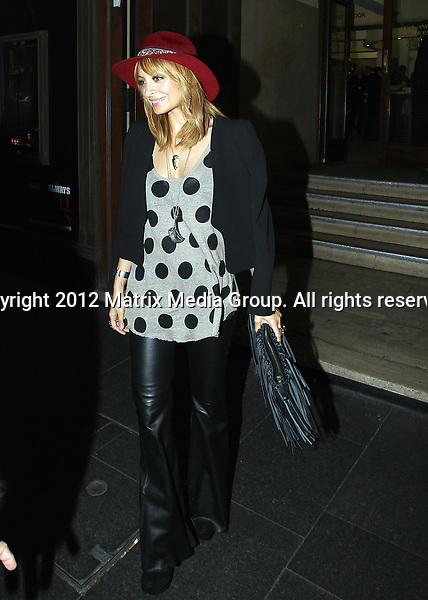 26 May 2012 Sydney, Australia..NON EXCLUSIVE..Nicole Richie leaves David Jones Sydney City Store after her new collection launch.