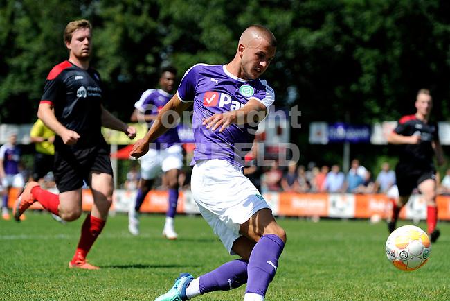 SURHUISTERVEEN - Voetbal, T Fean 58 - FC Groningen, voorbereiding seizoen 2018-2019, 07-07-2018,  FC Groningen speler Jesper Drost