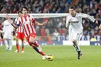 Cristiano Ronaldo and Tiago during La Liga Match. December 02, 2012. (ALTERPHOTOS/Caro Marin)