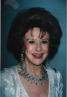 Ruth Warwick6033.JPG<br /> <br /> 1993 <br /> Ruth Warwick 1993<br /> Photo to By John Barrett-PHOTOlink.net/MediaPunch