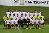 02.06.2016: Mannschaftsfoto und Training Nationalmannschaft
