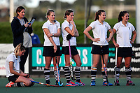 Dejected Somerville. Action during the Auckland Intercity Women's final hockey match between Takapuna and Somerville, North Harbour Hockey, Auckland, New Zealand. Saturday 19 August 2017. Photo:Simon Watts / www.bwmedia.co.nz