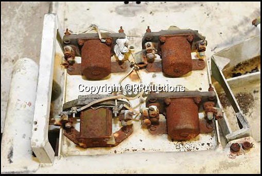 BNPS.co.uk (01202 558833)<br /> Pic: RRAuctions/BNPS<br /> <br /> In need of some attention - the four electric motors that powered the Rovers wheels.<br /> <br /> One small step for a bidder, one giant leap for his mechanic...<br /> <br /> In the 60's it would have been a top secret part of NASA's $25 billion Apollo space program - but today this prototype Lunar Rover has been discovered languishing in a scrap yard in deepest Alabama. <br /> <br /> The vehicle was part of the development program for the Lunar Rover that eventually reached the moon on Apollo 15 in 1972,<br /> <br /> But despite becomindg a rusty footnote to space history the spartan vehicle still retains an astronomical &pound;110,000 auction estimate.<br /> <br /> RR Auctions - 21st April - &pound;110,000 est