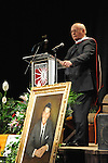Mikhail Gorbachev, the last premier of the Soviet Union, receives an honorary doctorate at Eureka College, the alma matter of President Reagan, in Eureka, Illinois on March 27, 2009. Gorbachev called Reagan a partner whom he trusted.