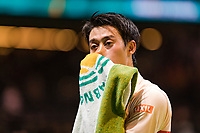 Rotterdam, The Netherlands, 16 Februari 2019, ABNAMRO World Tennis Tournament, Ahoy, Kei Nishikori (JPN),<br /> Photo: www.tennisimages.com/Henk Koster