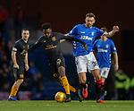 24.11.2018 Rangers v Livingston: Steven Lawson and Gareth McAulay