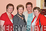 Having a laugh at the Shuna  Lougheny night in Kirby's Lanterns Hotel Tarbert on Saturday night were Phil Reidy, Abbeyfeale, Teresa Foran, Cork, Sheila Collins and Mary Flynn, Abbeyfeale..   Copyright Kerry's Eye 2008