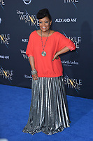 Yvette Nicole Brown at the premiere for &quot;A Wrinkle in Time&quot; at the El Capitan Theatre, Los Angeles, USA 26 Feb. 2018<br /> Picture: Paul Smith/Featureflash/SilverHub 0208 004 5359 sales@silverhubmedia.com