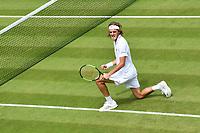 Stefanos Tsitsipas (Gre)<br /> Wimbledon 05-07-2018 Roland Garros <br /> Tennis Grande Slam 2018 <br /> Foto Panoramic / Insidefoto <br /> ITALY ONLY