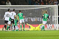 goal, Tor zum 1:0 für Julian Draxler (Deutschland, Germany)- 11.10.2016: Deutschland vs. Nordirland, HDI Arena Hannover, WM-Qualifikation Spiel 3