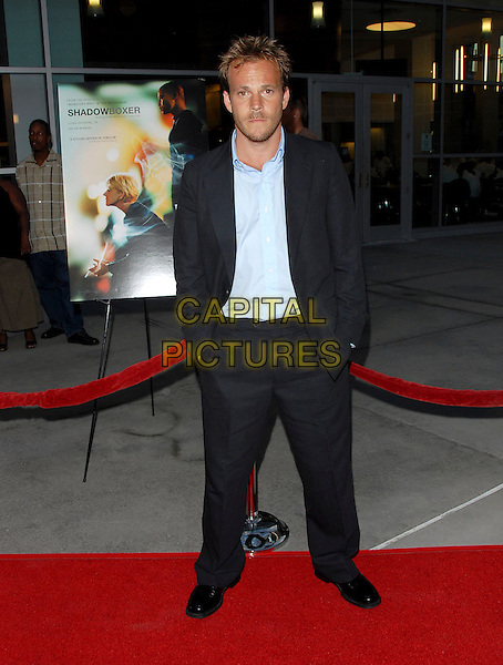 "STEPHEN DORFF.The Los Angeles Premiere of ""Shadowboxer"" held at The Arclight Theatre in Hollywood, California, USA..July 19th, 2006.full length blue suit hands in pockets.www.capitalpictures.com.sales@capitalpictures.com.Supplied By Capital PIctures"