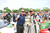 IMSA WeatherTech SportsCar Championship<br /> Chevrolet Sports Car Classic<br /> Detroit Belle Isle Grand Prix, Detroit, MI USA<br /> Saturday 3 June 2017<br /> 93, Acura, Acura NSX, GTD, Andy Lally, Katherine Legge, Michael Shank<br /> World Copyright: Richard Dole<br /> LAT Images<br /> ref: Digital Image RD2_2009