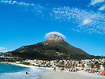 Clouds above Lions Head Camps Bay