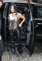 NEW YORK, NY- September 10: Kim Kardashian West seen returning to her hotel in New York. September 10, 2019. <br /> CAP/MPI/RW<br /> ©RW/MPI/Capital Pictures