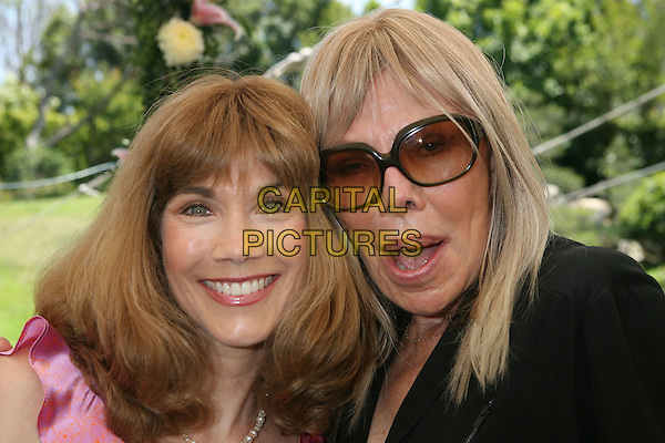 BARBI BENTON  & MARILYN GRABOWSKI.2007 Playmate of the Year Luncheon held at the Playboy Mansion,  Holmby Hills, California, USA, 03 May 2007..portrait headshot.CAP/ADM/RE.©Russ Elliot/AdMedia/Capital Pictures.
