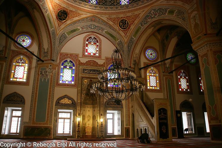 Sinanpasa Mosque in Besiktas, Istanbul, Turkey