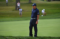 Phil Mickelson (USA) looks over his chip near the green on 7 during Rd3 of the 2019 BMW Championship, Medinah Golf Club, Chicago, Illinois, USA. 8/17/2019.<br /> Picture Ken Murray / Golffile.ie<br /> <br /> All photo usage must carry mandatory copyright credit (© Golffile   Ken Murray)