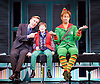 Elf <br /> by Thomas Meehan and Bob Martin <br /> at the Dominion Theatre, London, Great Britain <br /> press photocall <br /> 2nd November 2015 <br /> Joe McGann Walter Hobbs<br /> Ewan Rutherford as Michael Hobbs <br /> Ben Forster as Buddy <br /> <br /> <br /> <br /> <br /> <br /> <br /> Photograph by Elliott Franks <br /> Image licensed to Elliott Franks Photography Services
