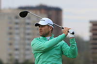 Trevor Fisher Jnr (RSA) on the 2nd tee during Round 4 of the Open de Espana 2018 at Centro Nacional de Golf on Sunday 15th April 2018.<br /> Picture:  Thos Caffrey / www.golffile.ie<br /> <br /> All photo usage must carry mandatory copyright credit (&copy; Golffile | Thos Caffrey)