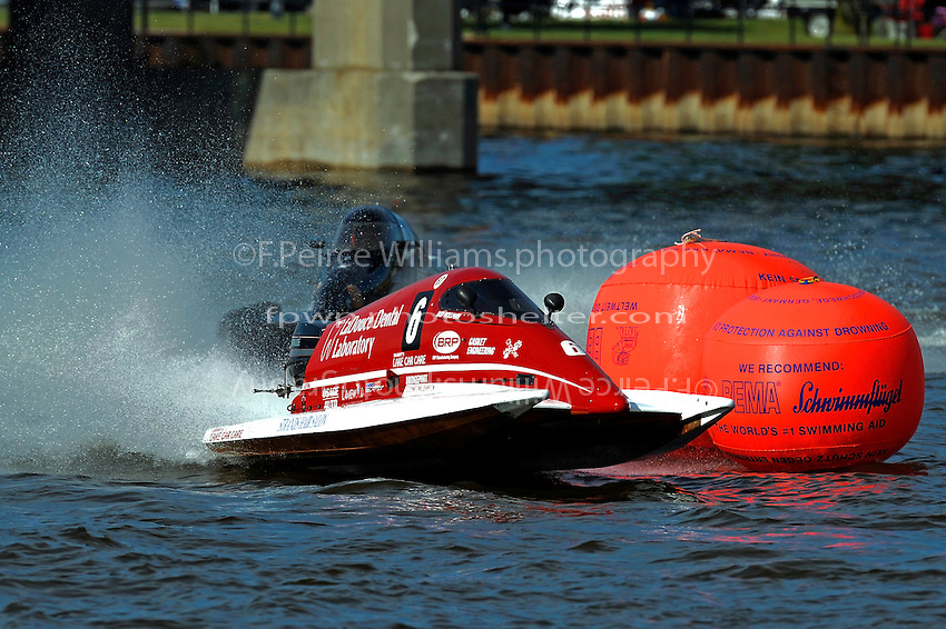 Bud Nollman (#6) & Butch Ott (#78) SST-45 class.Bay City River Roar, Bay City,Michigan USA.26-2821 June, 2009..©F. Peirce Williams 2009 USA.F.Peirce Williams.photography.ref: RAW (.NEF) File Available