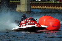 Bud Nollman (#6) & Butch Ott (#78) SST-45 class.Bay City River Roar, Bay City,Michigan USA.26-2821 June, 2009..©F. Peirce Williams 2009 USA.F.Peirce Williams.photography.ref: RAW (.NEF) File Available