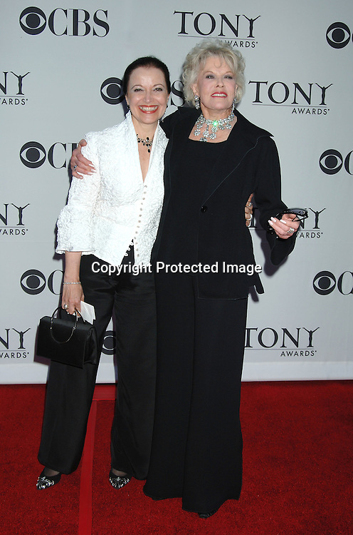 Francesca James and Janice Page..arriving at the 60th Annual Tony Awards on June11, 2006..at Radio City Music Hall. ..Robin Platzer, Twin Images