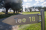 ELST - aanwijzing hole 18. Golfbaan Landgoed Welderen. COPYRIGHT  KOEN SUYK