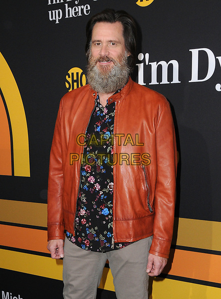 31 May 2017 - Los Angeles, California - Jim Carrey. Premiere of Showtime's &quot;I'm Dying Up Here&quot; held at DGA Theater in Los Angeles. <br /> CAP/ADM/BT<br /> &copy;BT/ADM/Capital Pictures