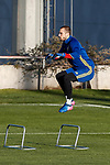 Pau Lopez during the training of Spanish national team under 21 at Ciudad del El futbol  in Madrid, Spain. March 21, 2017. (ALTERPHOTOS / Rodrigo Jimenez)