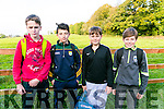 At the Kerry ETB orienteering event in Ballyseedy Wood on Tuesday were Daniel Devane, Cian O'Donoghue, Donagh Lyon, Matthew Daly from Colaiste na Sceilge